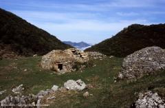 Corros: stone shepherds huts