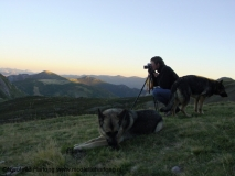 Photographing Spanish mountains